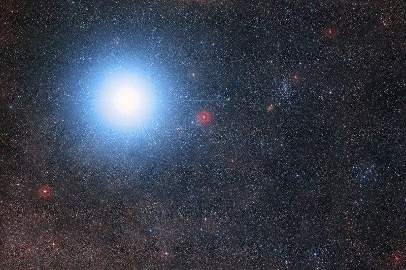 Görsel 6. Alpha Centauri yıldızı [10]