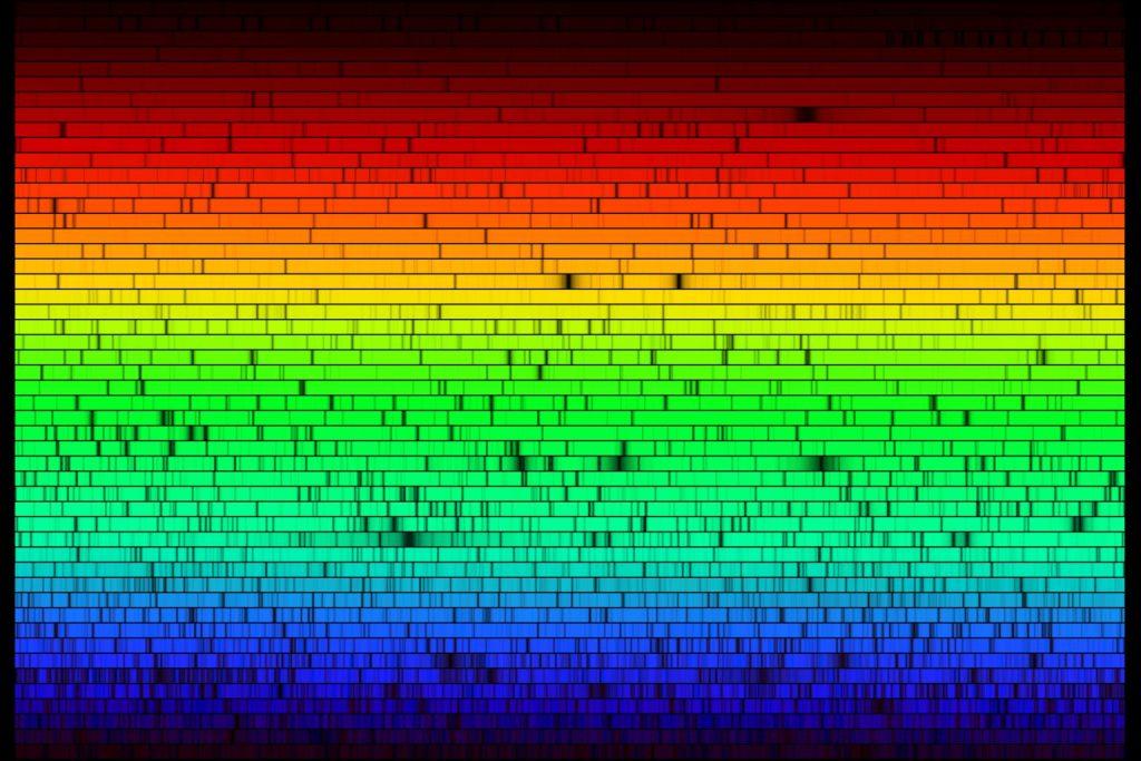 Uzaydaki Oluşumların Kimyası ve Spektroskopi
